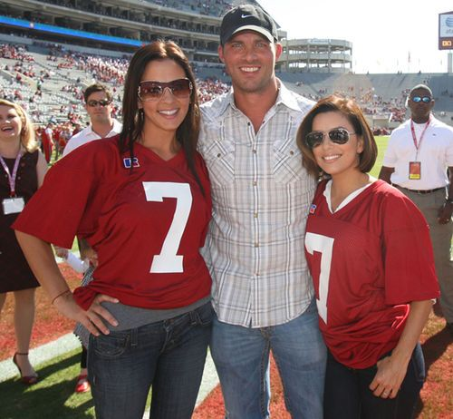 Sara Evans, Jay Barker & Eva Longoria For Great Sports