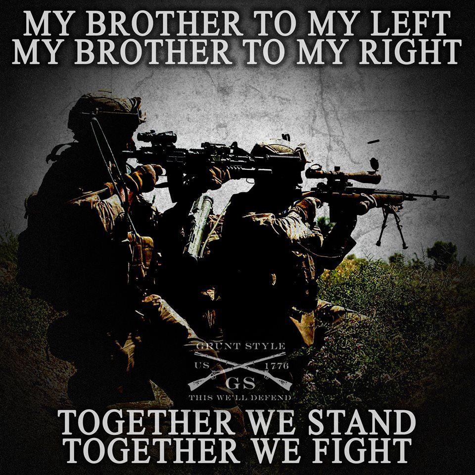 Brotherhood Quotes: Pin By Angel G. Cruz On Military Brotherhood