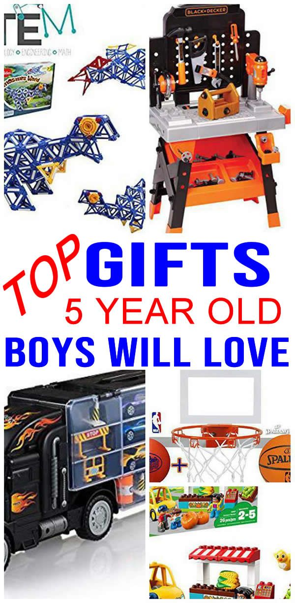 BEST Gifts 5 Year Old Boys Will Love | 5 year old ...