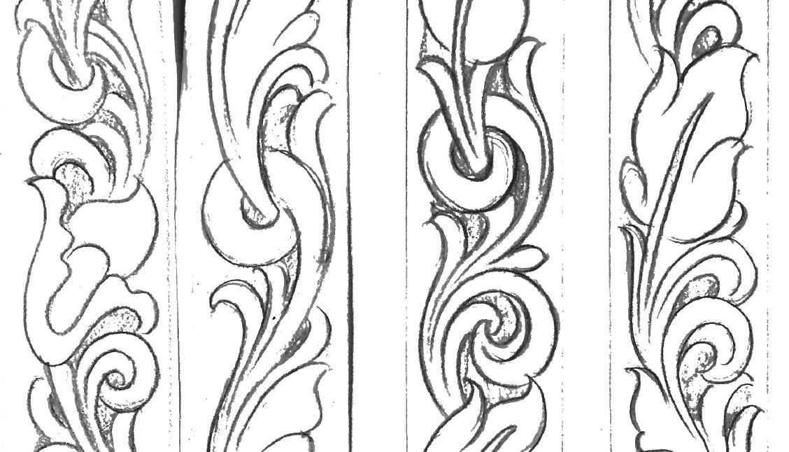 Image Result For Printable Leather Tooling Patterns Leather Tooling Patterns Leather Patterns Templates Tooling Patterns