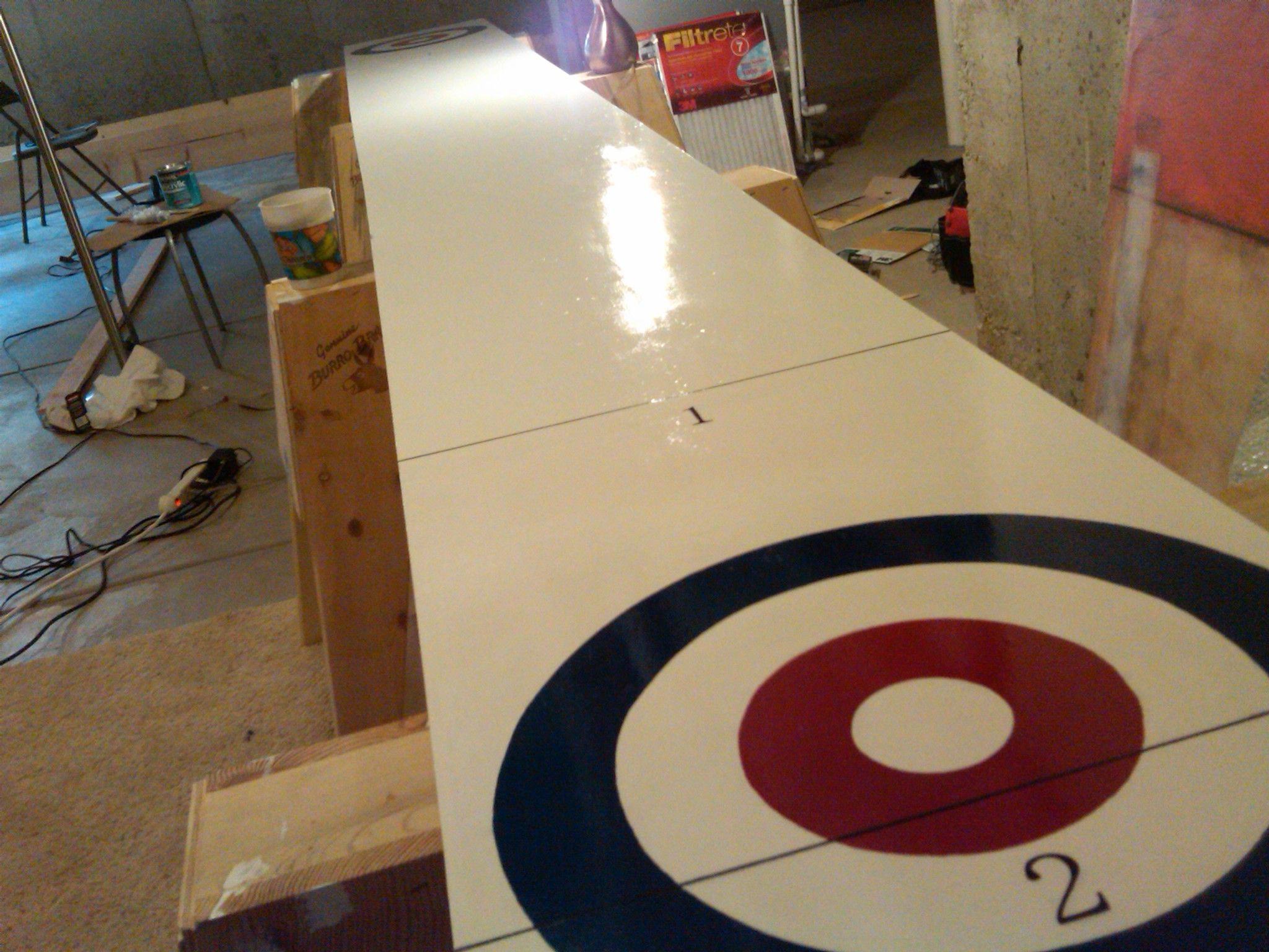 How To Build A Shuffleboard Table Diy Plans