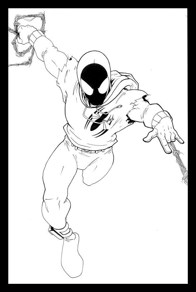 Scarlet Spider By Ragelion On Deviantart Spider Verse Spider