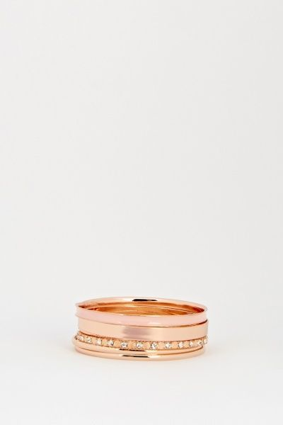 Multi Rose Gold Bangles