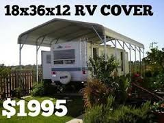 Image Result For Metal Rv Carports With Living Space Rv Cover Rv Carports Metal Rv Carports