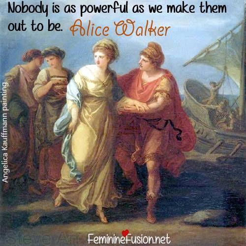 Alice Walker Quote ~ Power