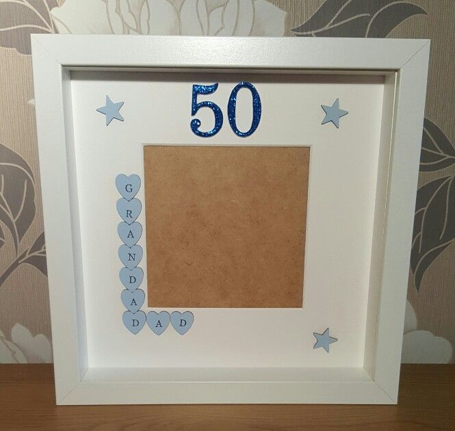 50th birthday grandaddad frame