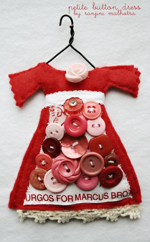 petite button dress