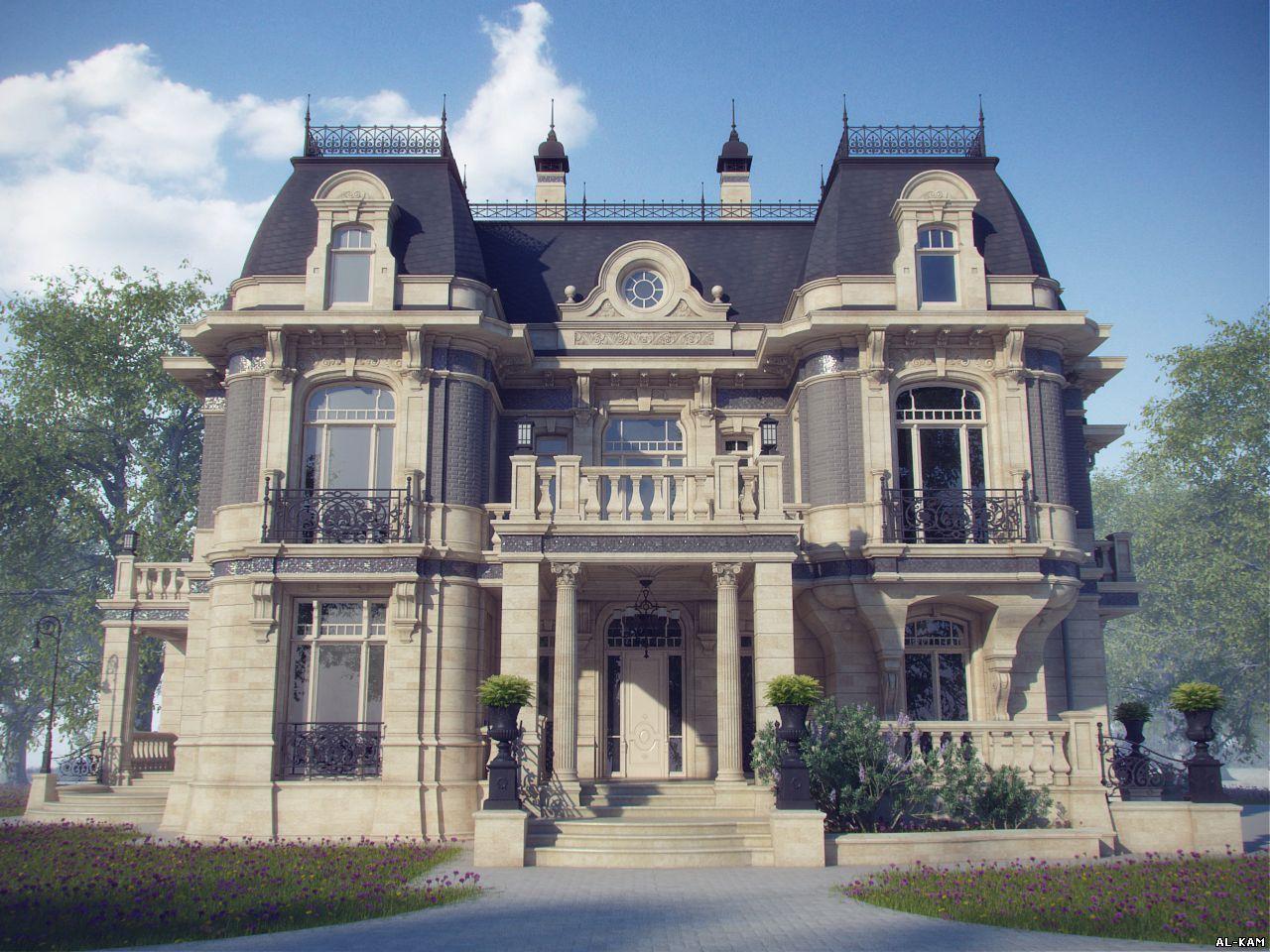фасад дома в стиле барокко: 25 тыс изображений найдено в ... Роскошные Дома в Стиле Барокко