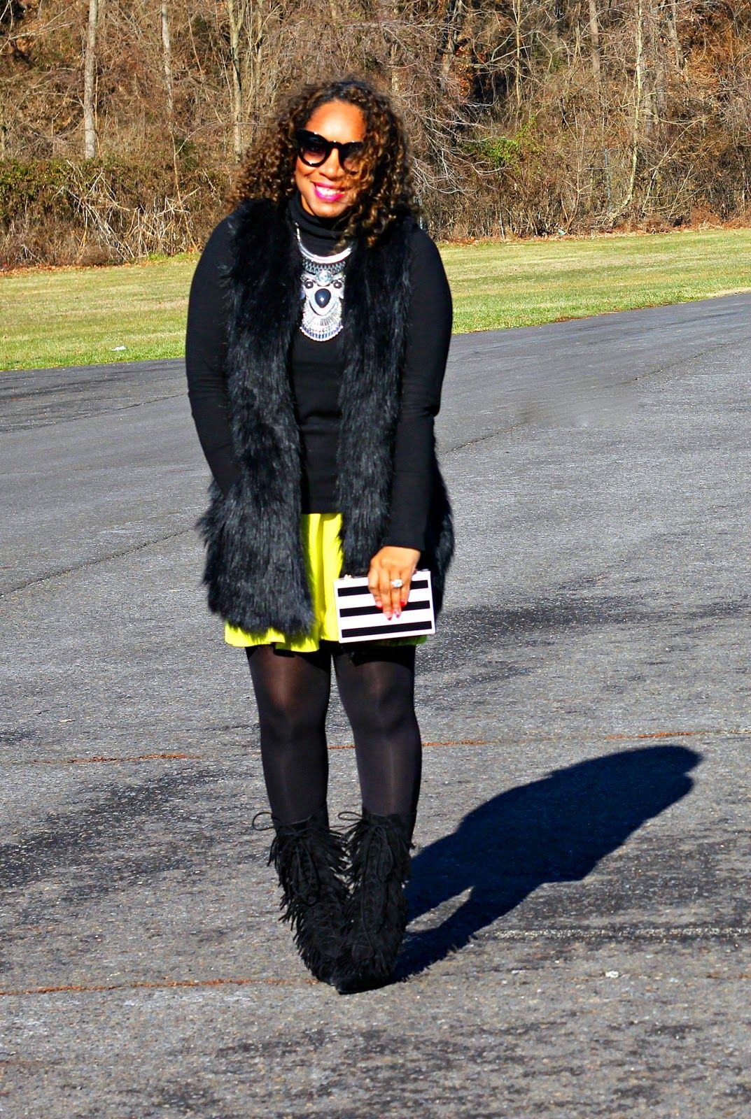 Style & Poise: Neon and Fringes
