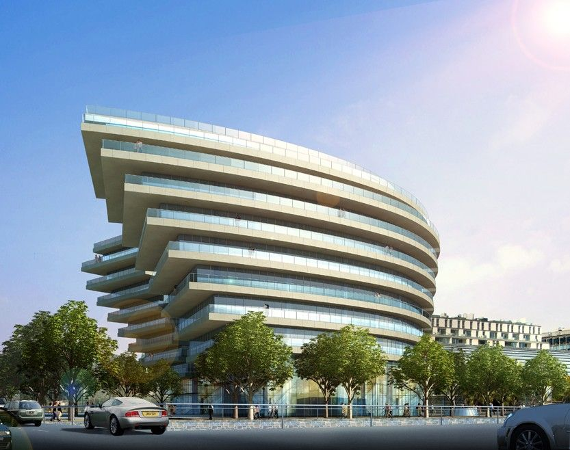 Buenos aires arquitectura contempor nea lugares for Fachadas de edificios modernos