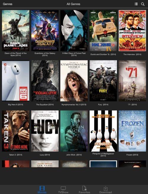 cinema hd app download ios
