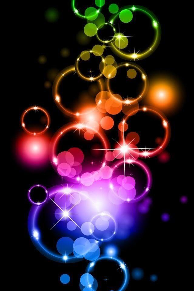 Neon bubbles orbeez in 2019 fractal art rainbow colors color splash - World of color wallpaper ...