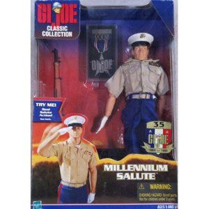 GI JOE USMC Marine Grenade Thrower 1999 Figure