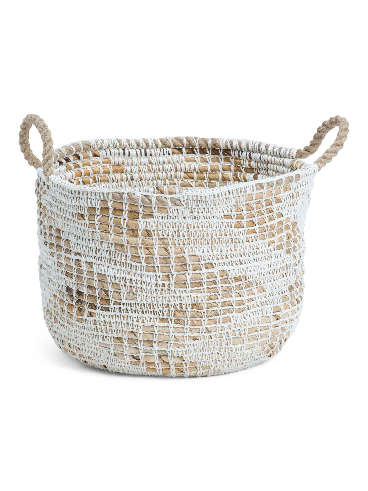 Made In Indonesia Medium Mixed Storage Basket Storage Baskets