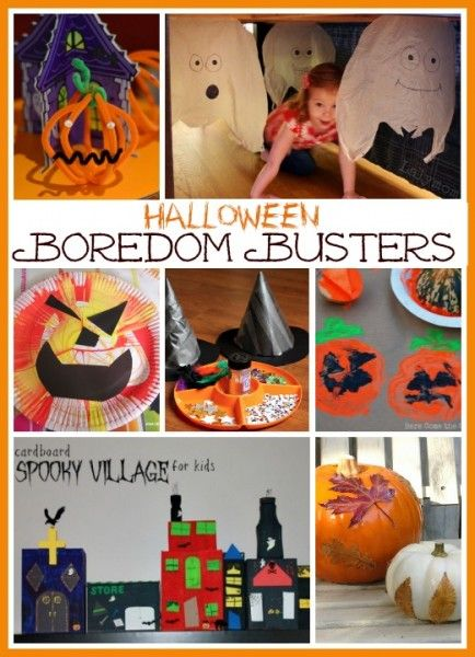Halloween Boredom Busters Boredom busters and Halloween ideas - halloween activities ideas