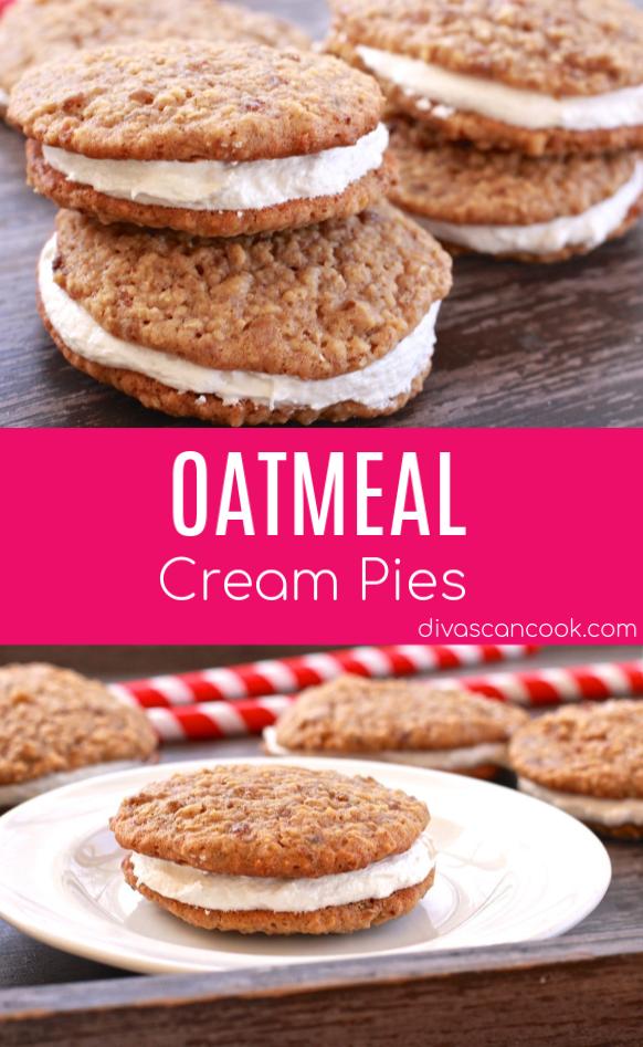 Homemade Oatmeal Cream Pies Recipe Recipe Homemade Snacks Homemade Oatmeal Cream Pie Recipes
