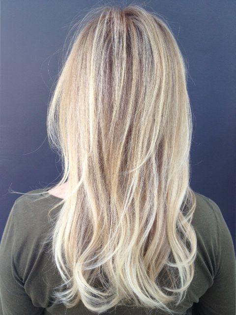 butter blonde highlights   Hair Color   Hair, Hair styles ...