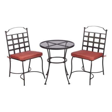 living accents twin oaks 3 piece bistro set all patio collections rh pinterest com