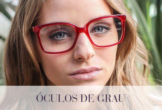 1feeccda3 Óculos de grau vermelho #Safira #ÉPraVocê #SafiraOnline #ÓculosdeGrau  #Armações #SafiraEyeLine