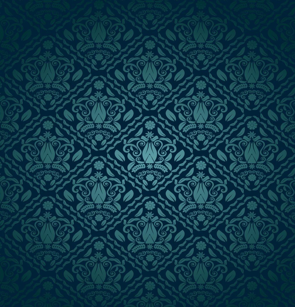 Blue and green pattern wallpaper - photo#32