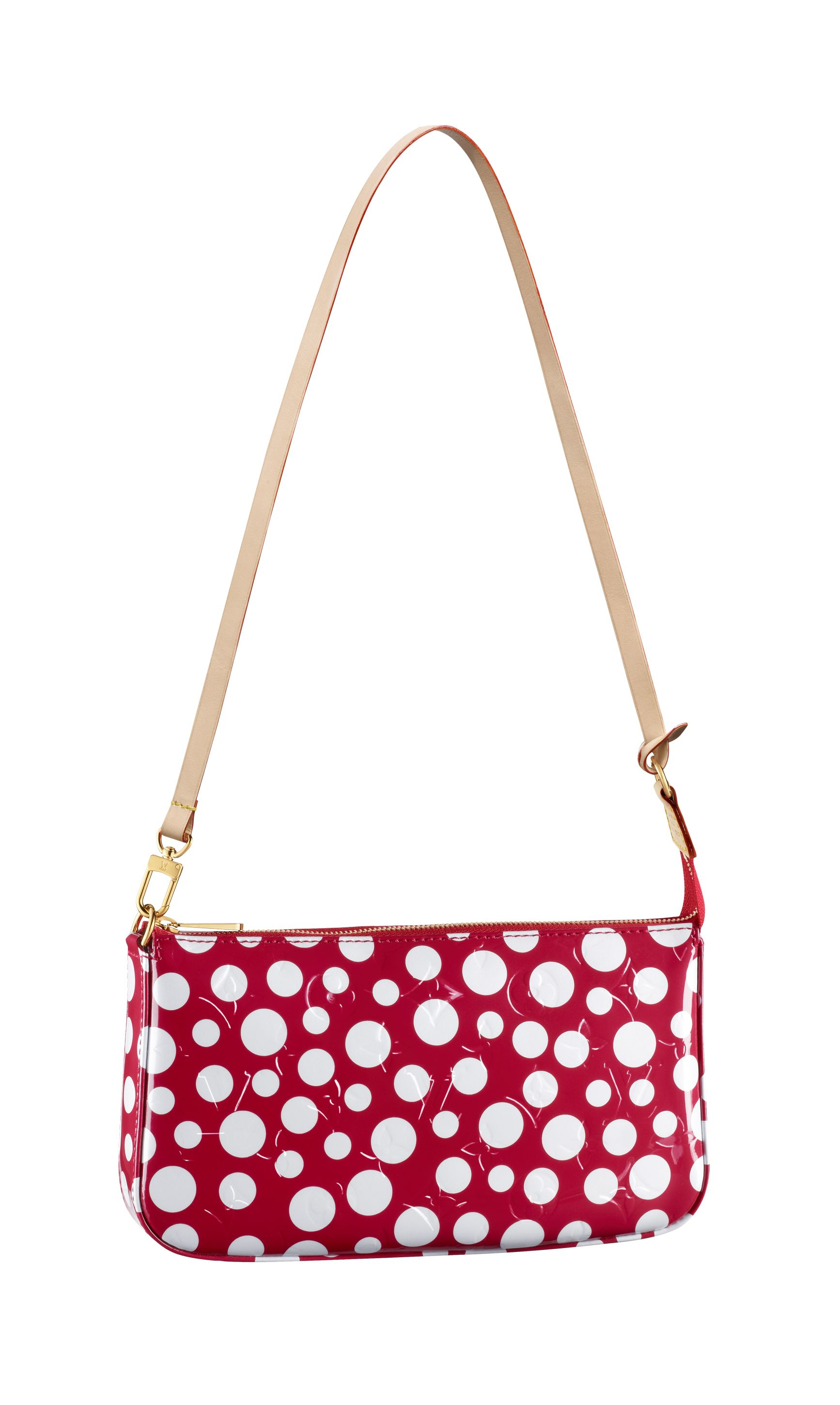 7eaf66bdfb60 A Pochette from the new Louis Vuitton Yayoi Kusama Collection. © Louis  Vuitton