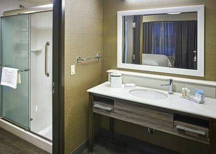 Hampton Inn Forever Young Initiative Bathroom Vanity Features