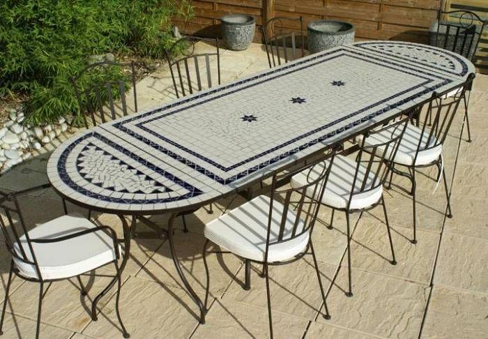 Epingle Par Mohammed Mour Sur Table Pots Mosaique Table De