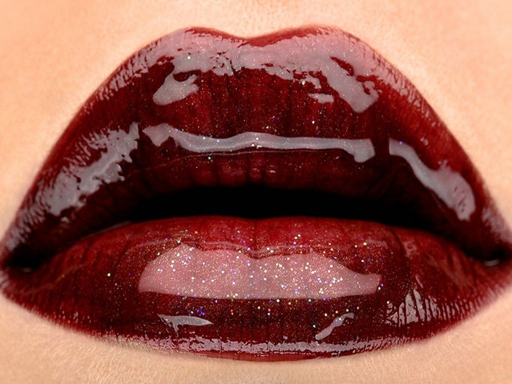 Burgundy Lips Candy Lips Lip Wallpaper Glossy Lips