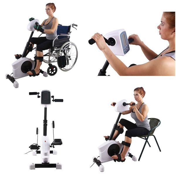 Meet The Konliking 180w Motorized Rehab Bike An Electrical Physical Therapy Device That Helps People Recover Fr Physical Therapy Senior Fitness Biking Workout
