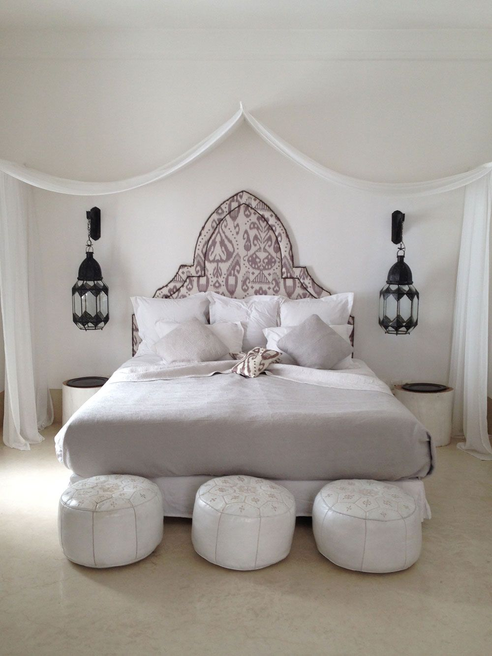 Marrakech This Kind Of Style For Bedroom With Macrame Plant Hangers
