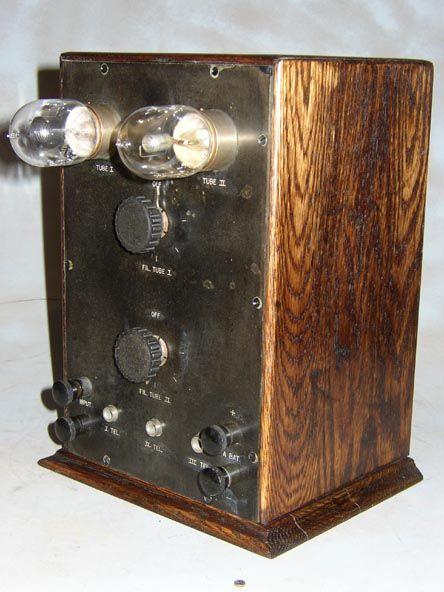 Stone Vintage Radio Museum Antique Radios Wireless Crystal