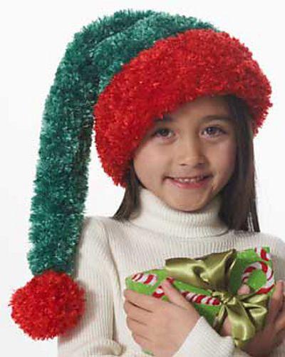 Ravelry Childs Santa Hat Pattern By Bernat Design Studio