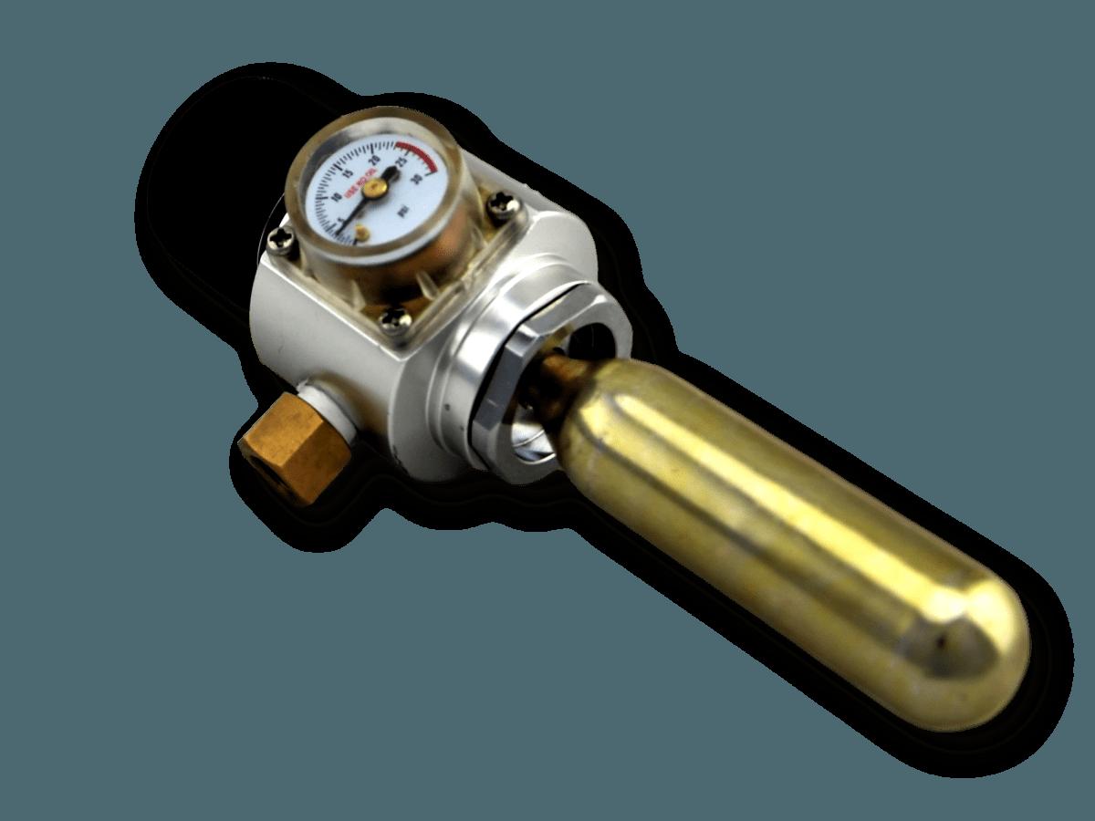 Professional Quality Portable CO2 Regulator | Beer keg