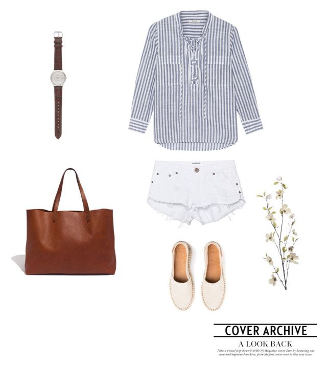 """""""Untitled #631"""" by vero199638 on Polyvore featuring Madewell, One Teaspoon, J.Crew and Pier 1 Imports"""
