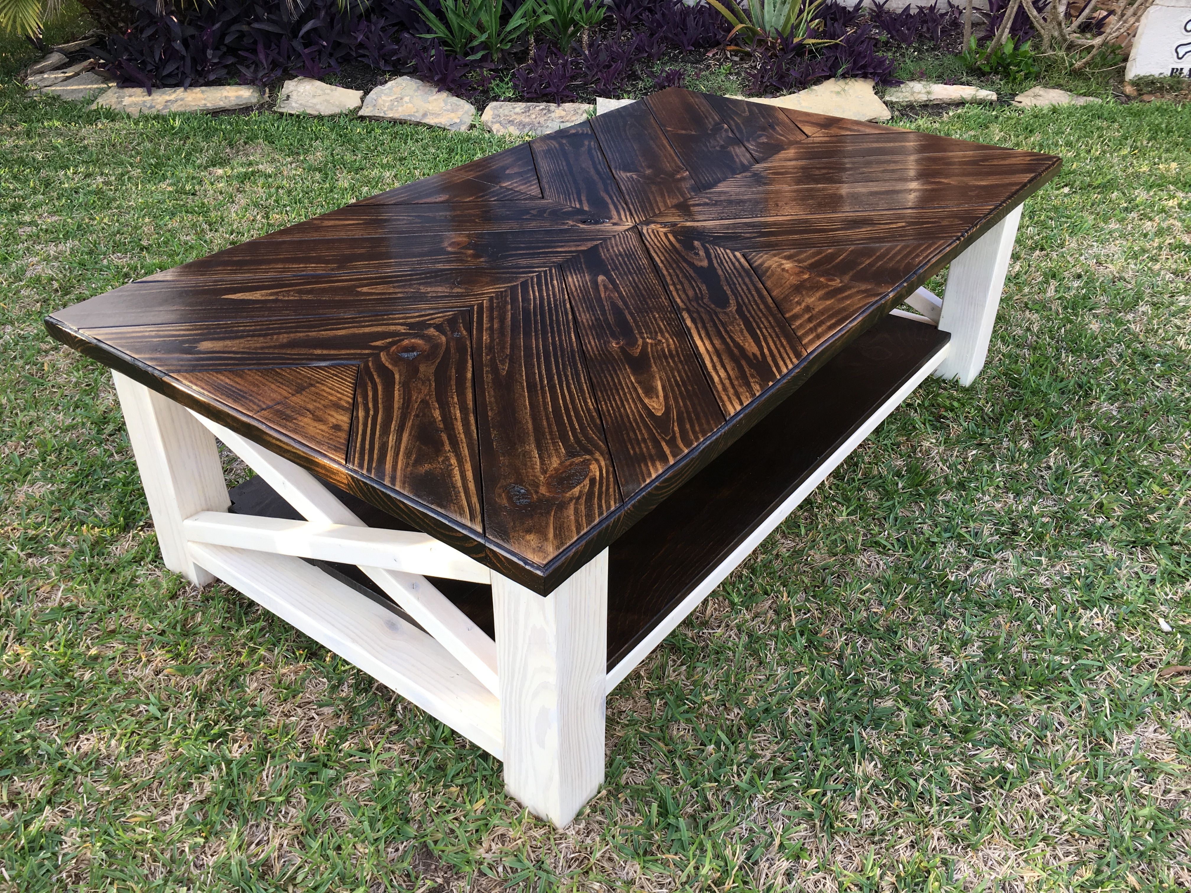 Ana White Coffee table DIY Projects house Pinterest