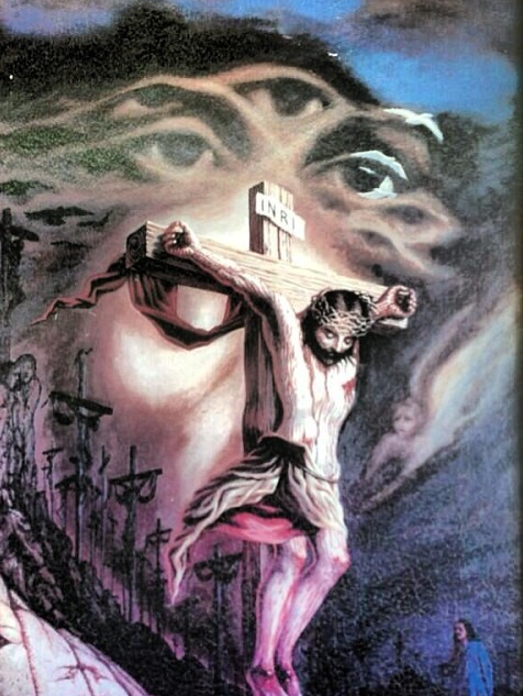 The United States Of Babylonia Illusion Paintings Jesus Drawings Optical Illusion Paintings