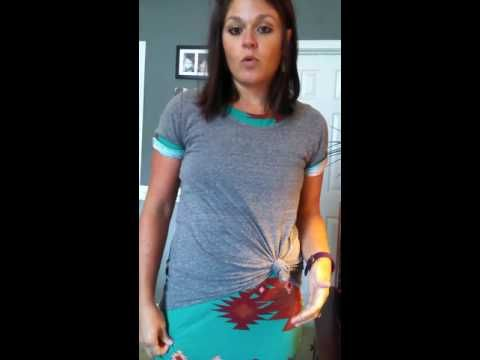 d01f86735f3c LuLaRoe Lesson: Covering up your tummy in your Julia dress! - YouTube