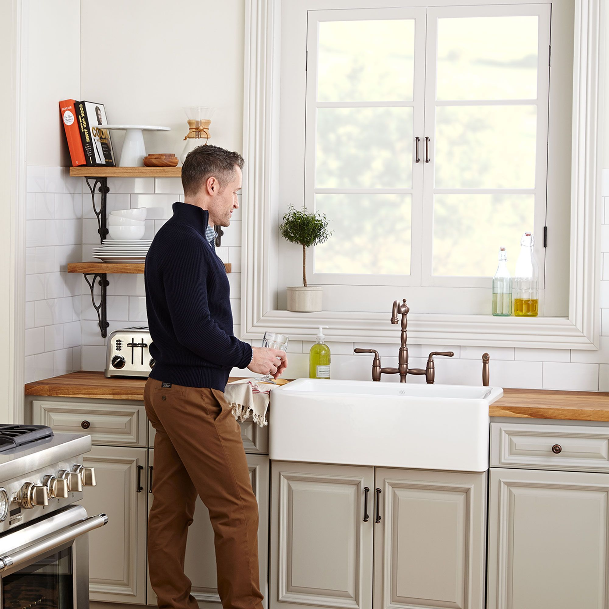 Hillside Kitchen Sink Collection from DXV (With images