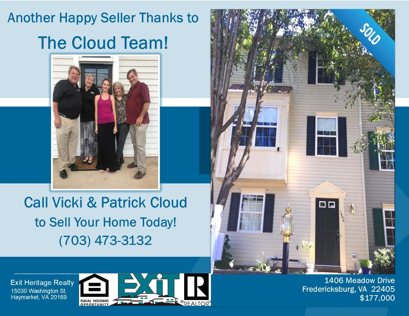 Congratulations To Our Happy Client Another Home Sold By The
