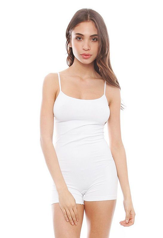 d1cd0ddb9fe6 Free People Intimately White Low Back Seamless Romper