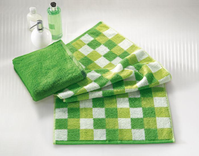 GRÜN bringt Frische in Dein Badezimmer! Handtücher set