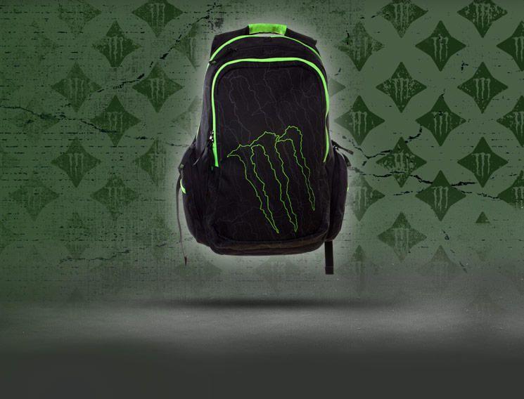 Monster Energy Backpack for 100 monster can tabs | cool ...