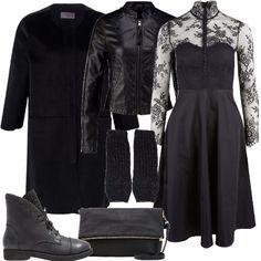 Sognare un abito nero 4 burning