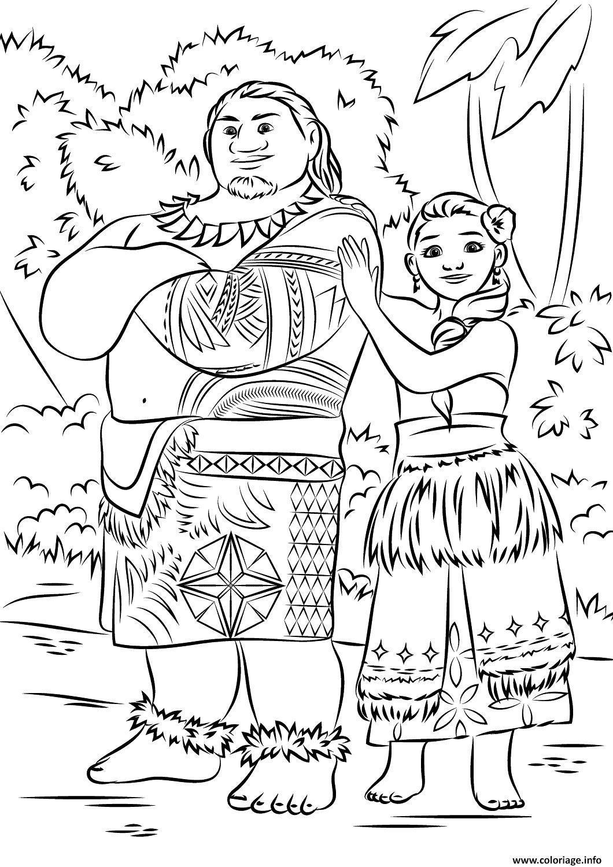 1485966336tui And Sina De Vaiana Moana Film Png 1060 1500 Moana Coloring Moana Coloring Pages Disney Coloring Pages