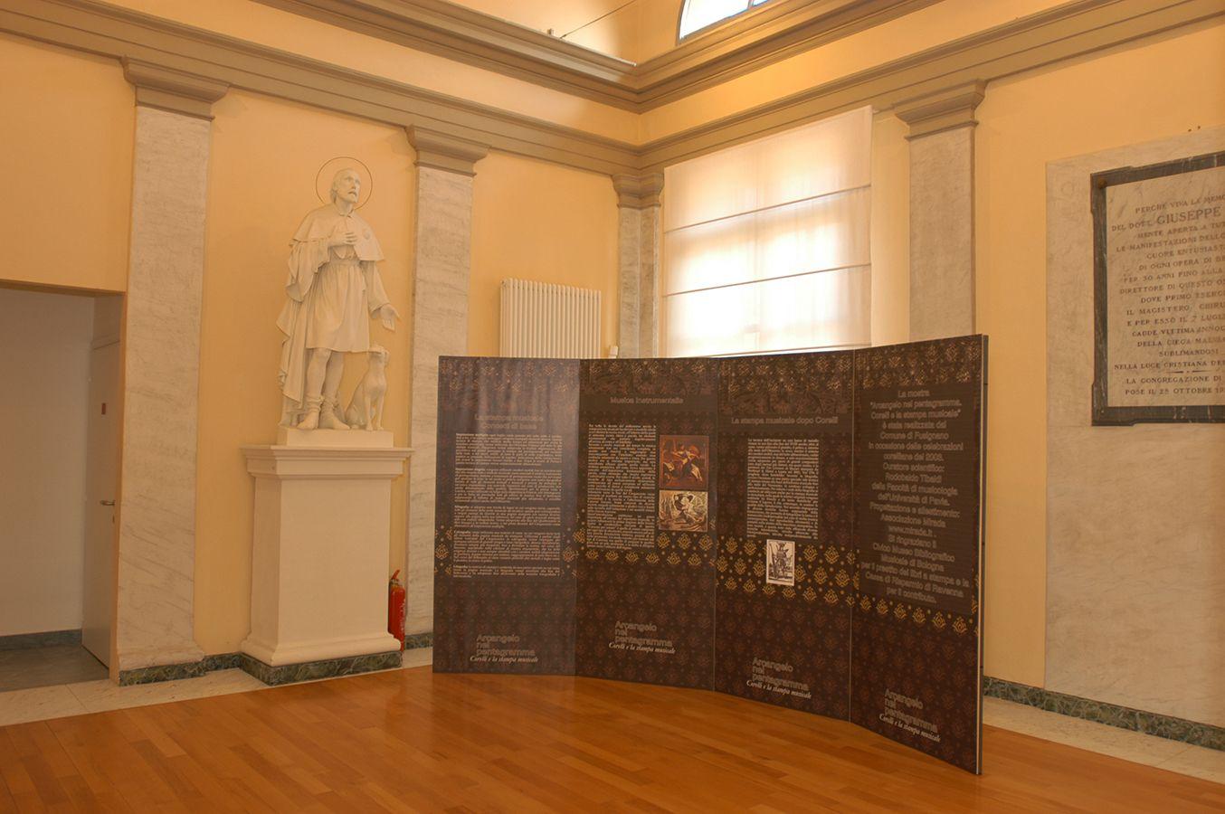 La mostra, organizzata in occasione dei 350 anni che decorrono dalla nascita del musicista e compositore italiano Arcangelo Corelli, realizzata dal Comune di Fusignano, a cura di Rodobaldo Tibaldi e progettata dall'associazione culturale Mirada.