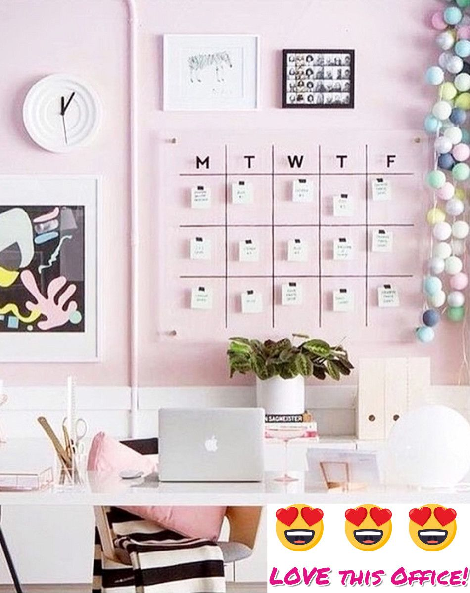 Pretty Home Office Ideas For Women Beautiful Glam Chic Home