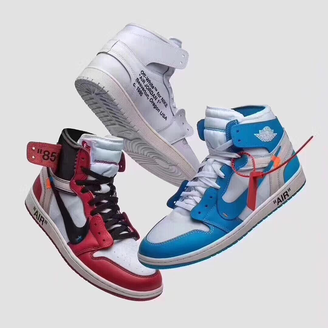 Jordan 1 Retro High Off-White Chicago in 2020 | Sneakers ...