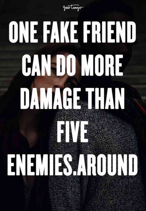 Fake Are Friends Worse Enemies