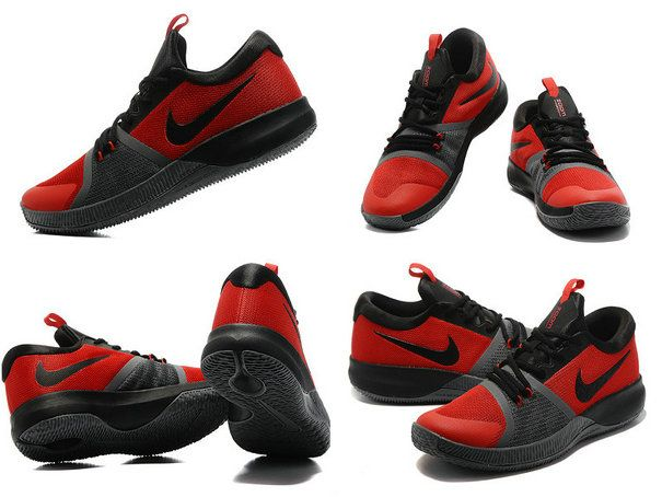 2017-2018 Newest And Cheapest Nike Zoom Assersion EP Kyrie Crimson Dark Grey