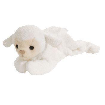 c9c3a01ab8f TY Beanie Baby - FLEECE the Lamb (7.5 inch)